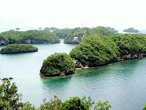 travel to hundred islands